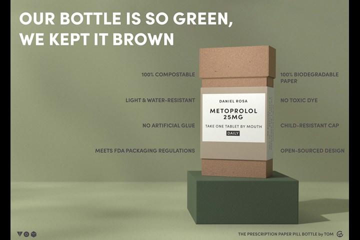 The Prescription Paper Pill Bottle - The Prescription Paper Pill Bottle - Tikkun Olam Makers: TOM