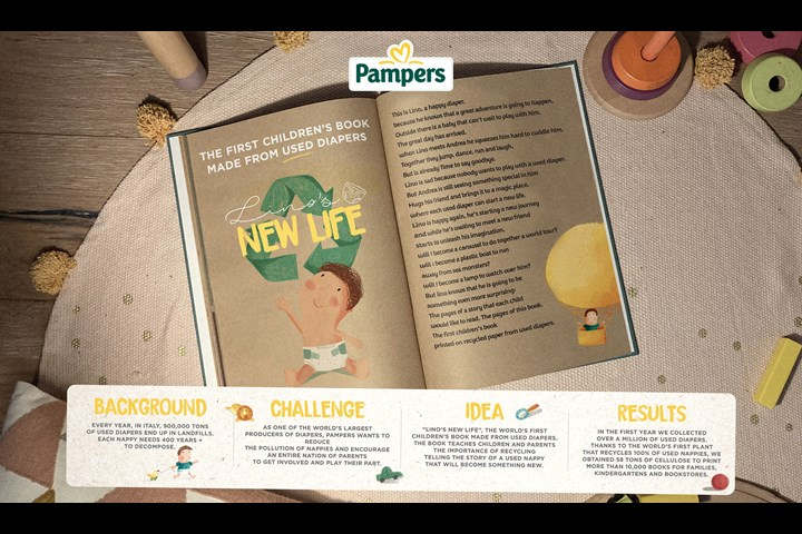 Lino's New Life - Diapers - Pampers