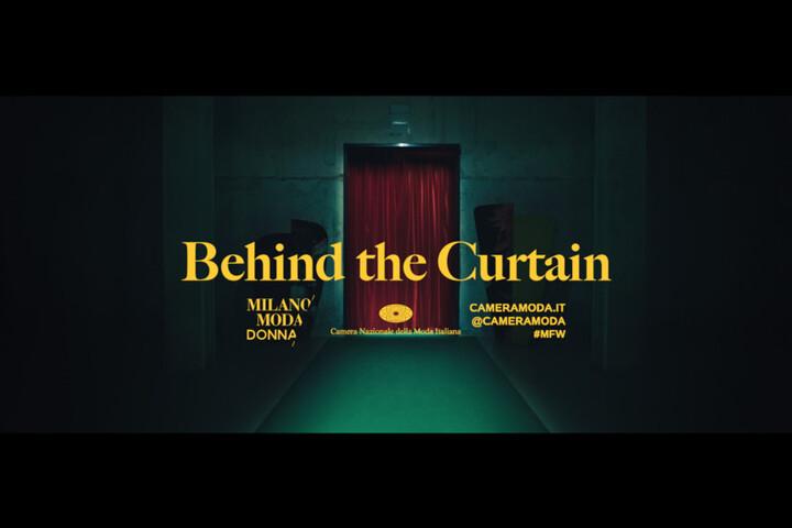Behind the Curtain - The Blink Fish - Camera Nazionale della Moda Italiana