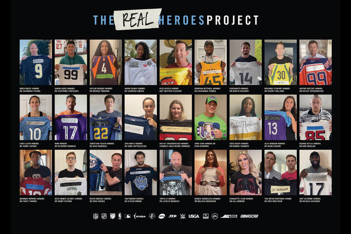 #TheRealHeroesProject - Non-Profit - Sports United