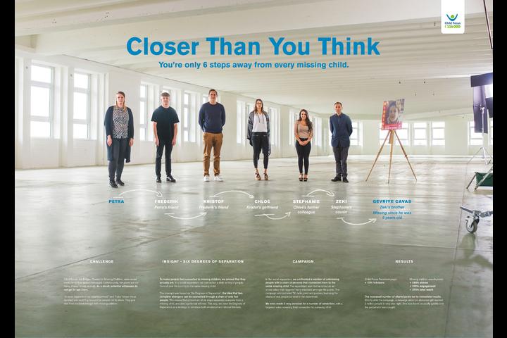 Closer than you think - Child Focus - Child Focus