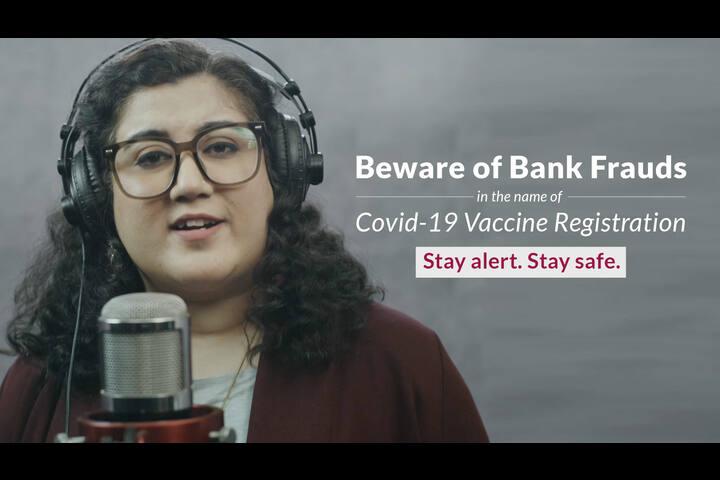 COVID-19 Vaccine Fraud - Axis Bank - Axis Bank