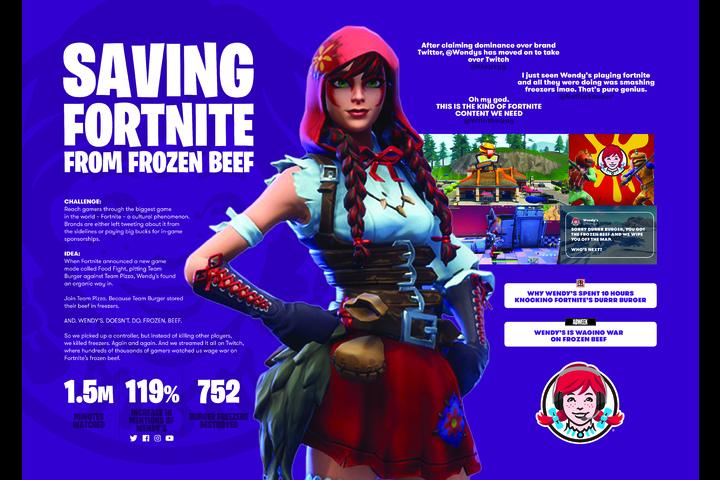 Keeping Fortnite Fresh - - Wendy's