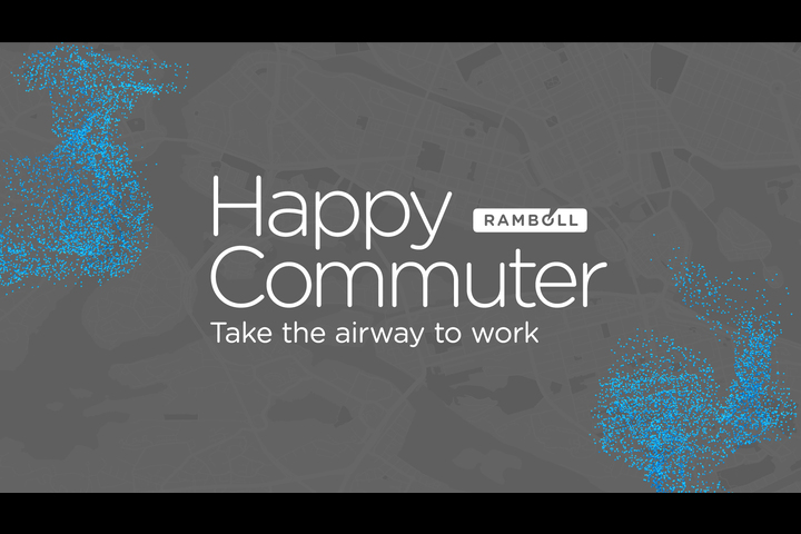 Happy Commuter - Ramboll - Planning and urban design, sustainable cities