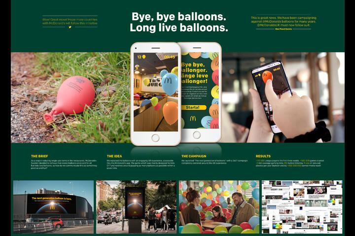 Bye, Bye Balloons. Long Live Balloons! - Fast Food - McDonald's