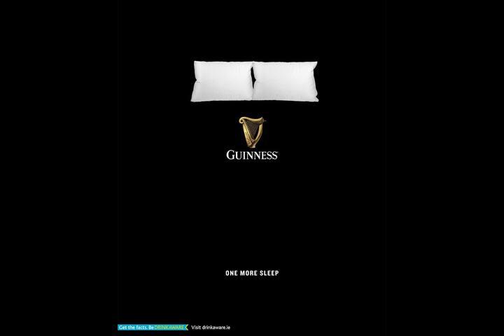 One More Sleep - Guinness - Guinness