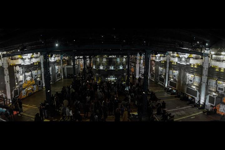 Portals at Atelier des Lumières - Immersive Projection Mapped Experience - Immersive Art Festival