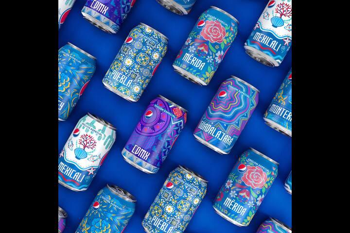 Pepsi Culture Can LTO - Mexico - Pepsi - Beverage