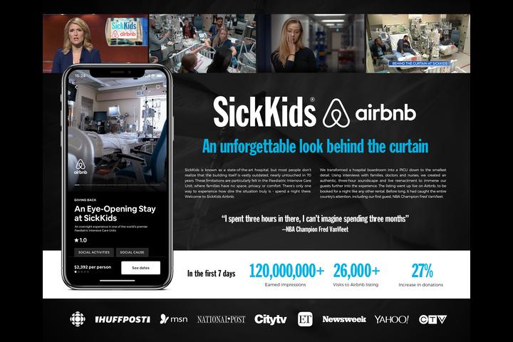 SickKids Airbnb - Non-profit organization -