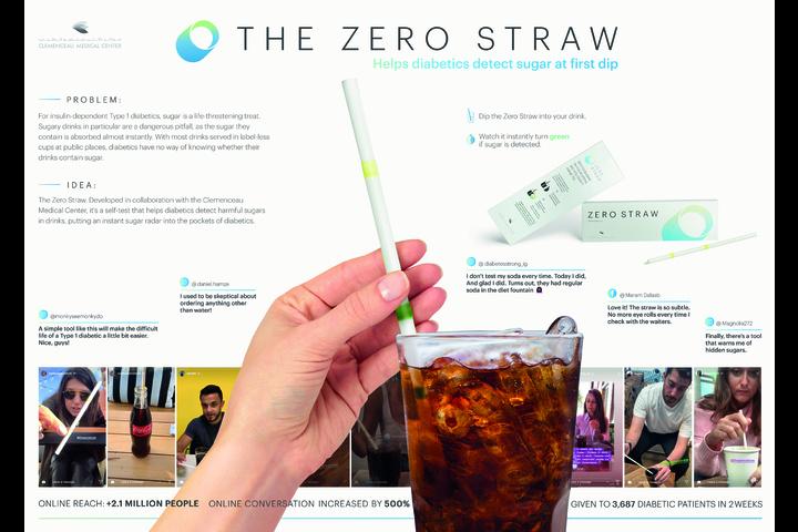 The Zero Straw - Zero-sugar straw - Clemenceau Medical Center (CMC)