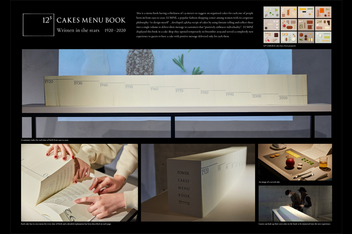 12 to the fifth power cake book - LUMINE - LUMINE