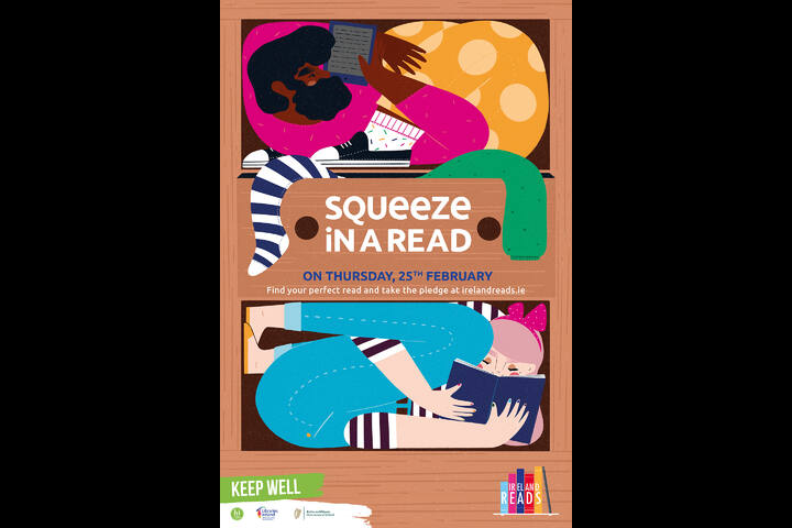 Squeeze in a Read - Libraries Ireland - LGMA